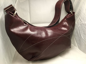 Foxtrot Medium Topstitch Hobo Bag