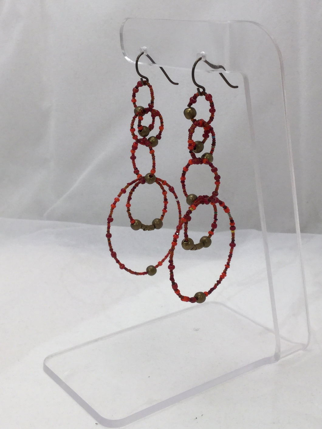 Long Circles Earrings