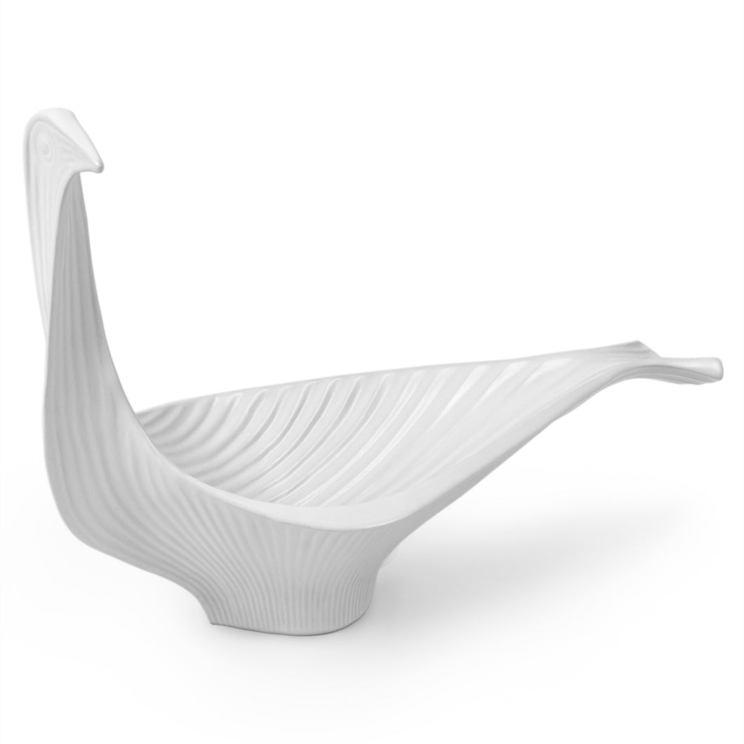 Menagerie Bird Bowl Large- White