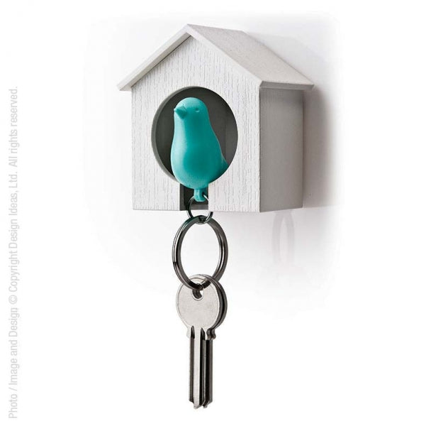 Sparrow Key Ring and Holder