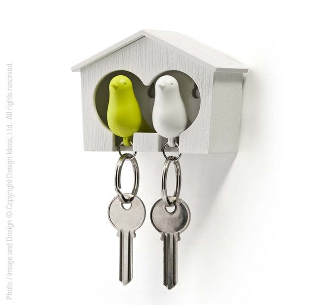 Mini Duo Sparrow Key Ring Holder