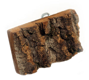 Bark Buckle and Wood Grain Belt