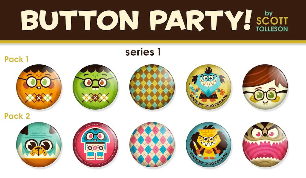 Artist Button Pack