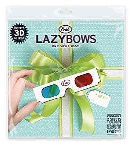 Lazy Bows 3D Gift Wrap