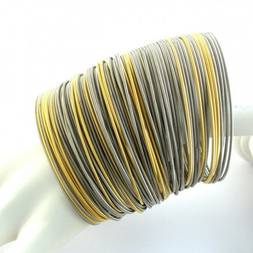 Bracelet Steel Bands- Gold