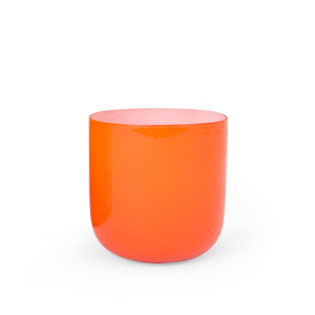 Pop Rocks Glass- Orange