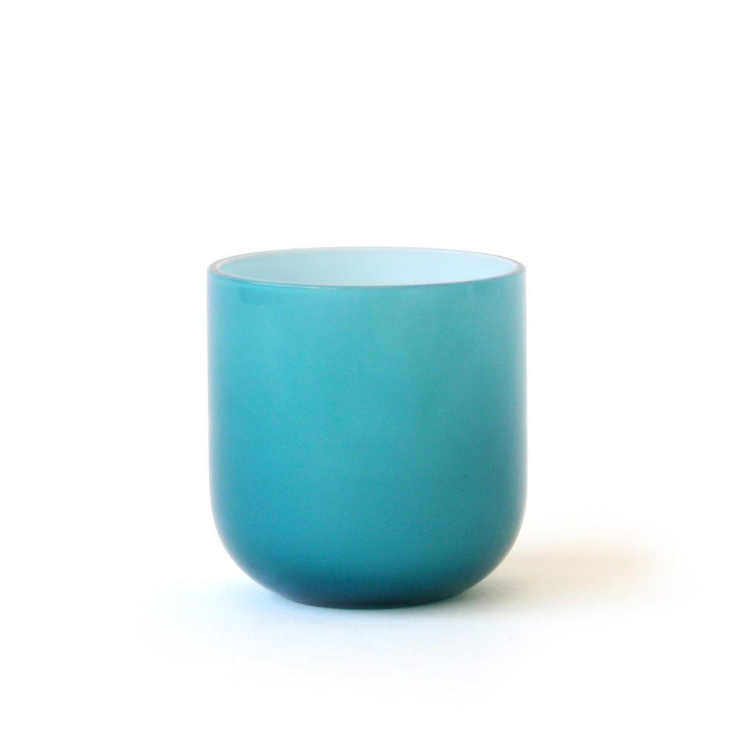 Pop Rocks Glass- Turquoise