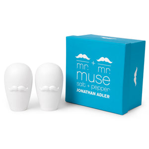 Mr. & Mr. Muse Salt & Pepper Shakers