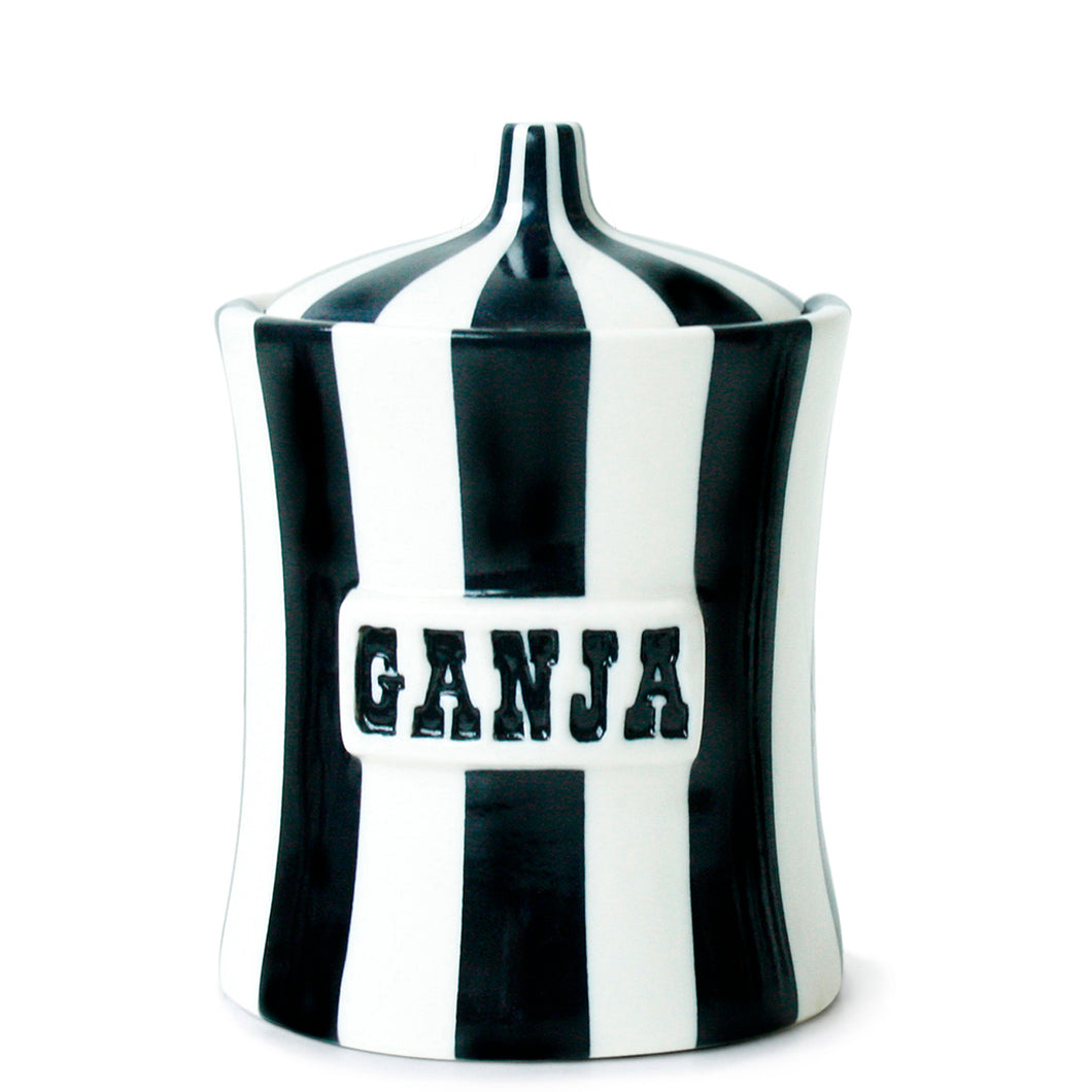 Vice Canister GANJA- Black and White- 6.75