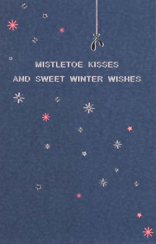 Mistletoe Kisses Card