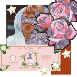 Samantha Cusick London // £100 GIFT VOUCHER