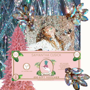 Samantha Cusick London // £50 GIFT VOUCHER