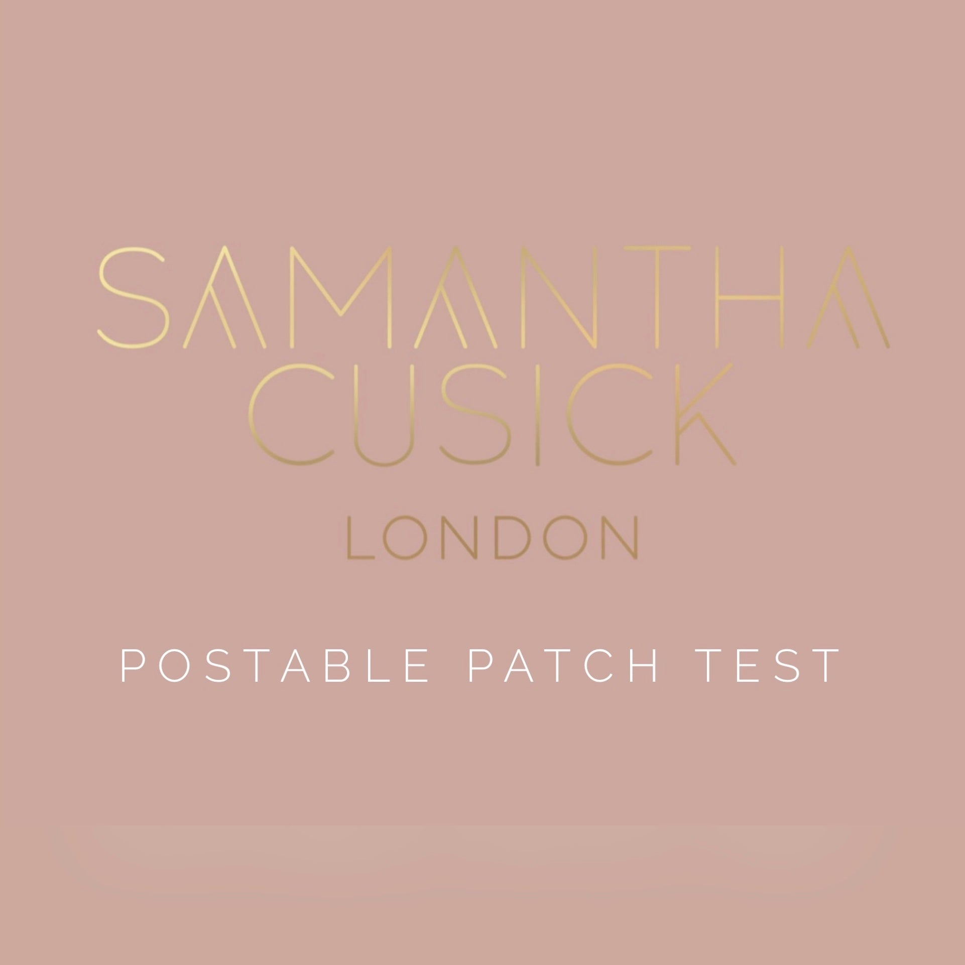 POSTABLE PATCH TEST KIT