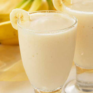 Tropical Banana Shake and Pudding