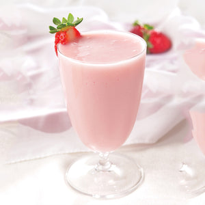Strawberry Shake and Pudding