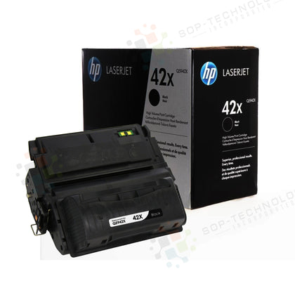 Genuine HP Q5942X (42X) Black High-Yield Toner Cartridge - SOP-TECHNOLOGIES, INC.