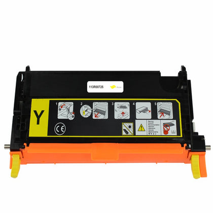 XEROX 113R00725 TONER CTG, YELLOW, 6K YIELD - SOP-TECHNOLOGIES, INC.
