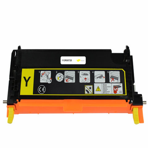 XEROX 113R00725 TONER CTG, YELLOW, 6K YIELD