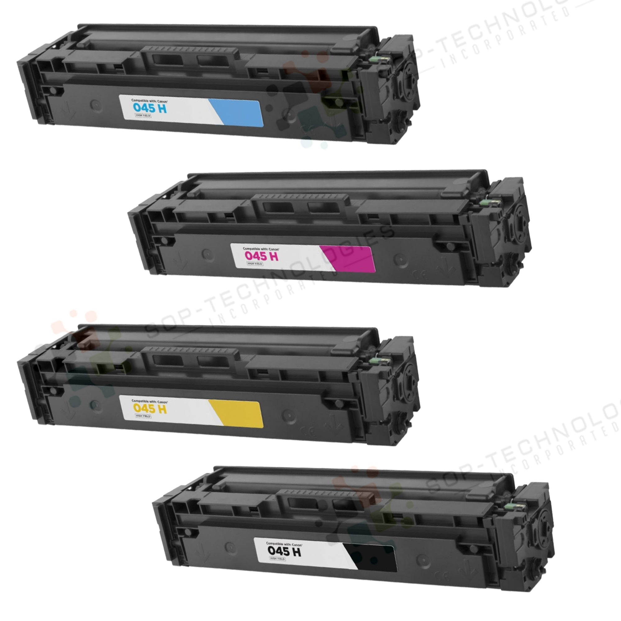 4pk Toner Cartridge for Canon Color imageCLASS MF634Cdw - SOP-TECHNOLOGIES, INC.