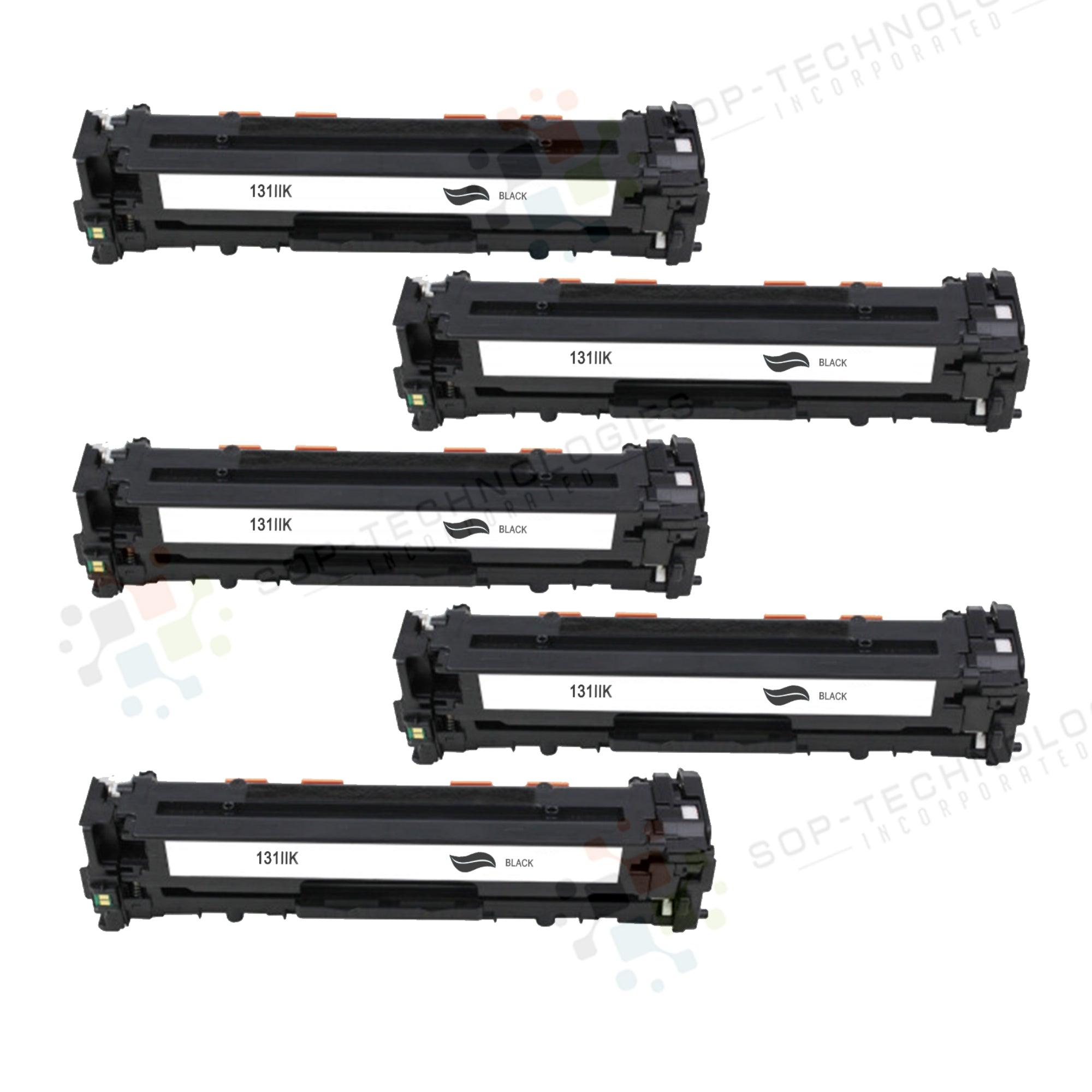 5pk Replacement Toner Cartridge for Canon imageClass MF8280Cw