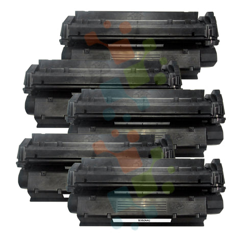 5 Pack S35Toner catridge for Canon (Black Only)