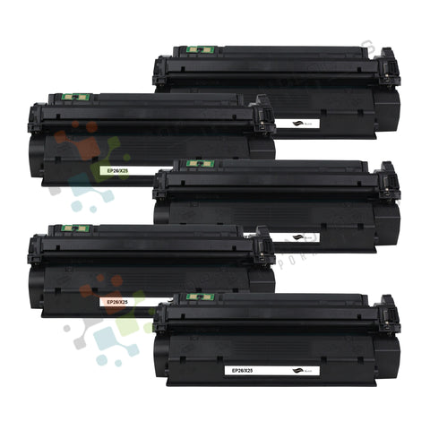 5 Pack EP26 Compatible toner for Canon (Black Only) ( Universal with X25 )