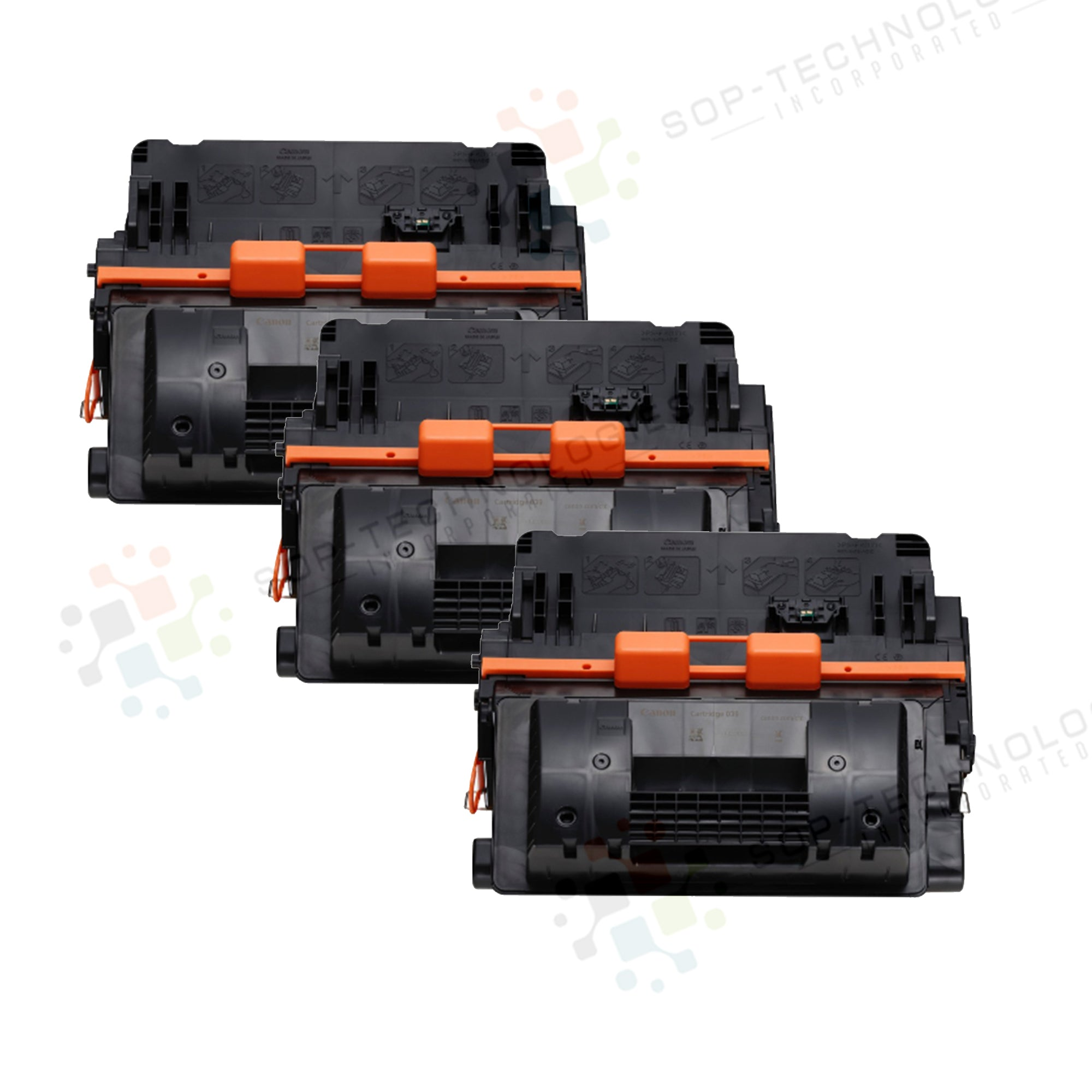 3pk Toner Cartridge Compatible Replacement for Canon imageCLASS  LBP351dn - SOP-TECHNOLOGIES, INC.