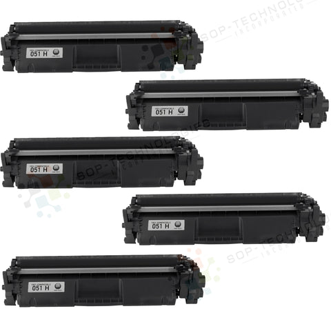 5pk Toner Cartridge Replacement for Canon imageCLASS LBP162dw