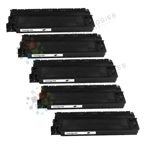 5 Pack E40  Replacement Drum Unit for Canon (Black Only)