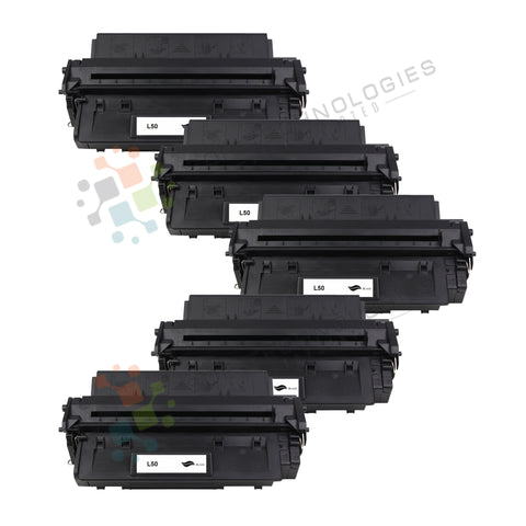 5 Pack L50 Toner cartridge for Canon (Black Only)
