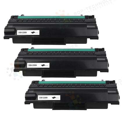 3 Pack Toner Cartridge for Dell 2335 - SOP-TECHNOLOGIES, INC.