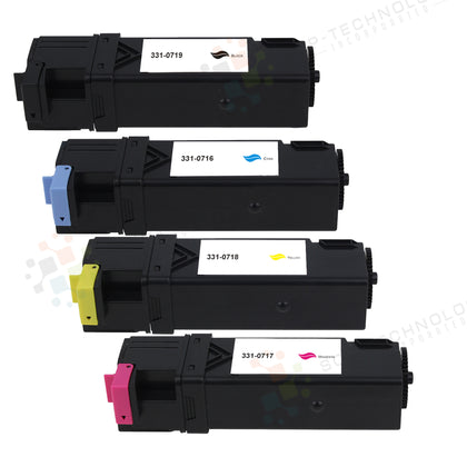 4 Pack Compatible Toner Cartridge for Dell 2150 - SOP-TECHNOLOGIES, INC.