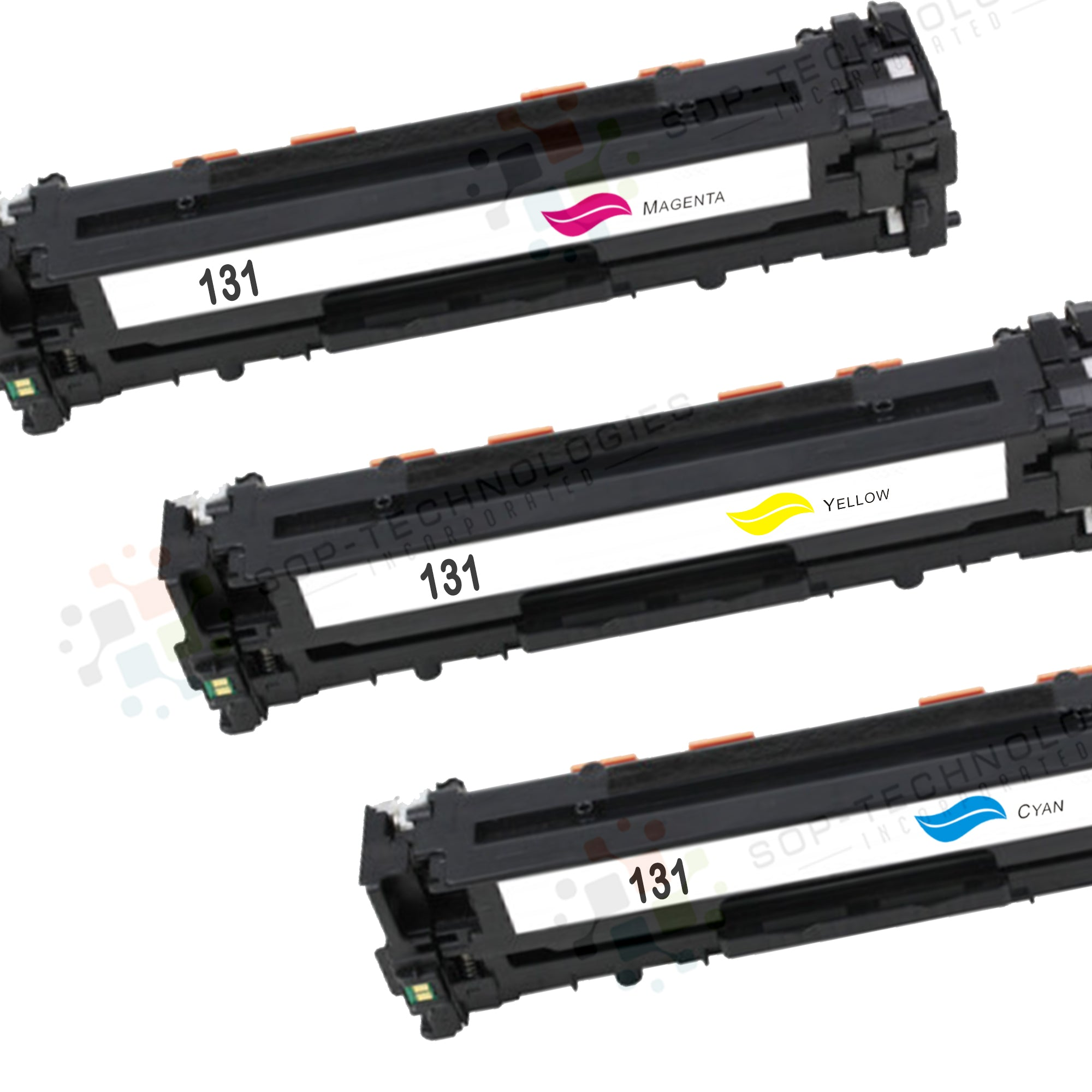 3pk Valuetoner Compatible Toner Cartridge Replacement for Canon imageClass MF8280Cw - SOP-TECHNOLOGIES, INC.