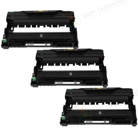 3 Pack Compatible Dell Imaging Drum for Dell E310dw