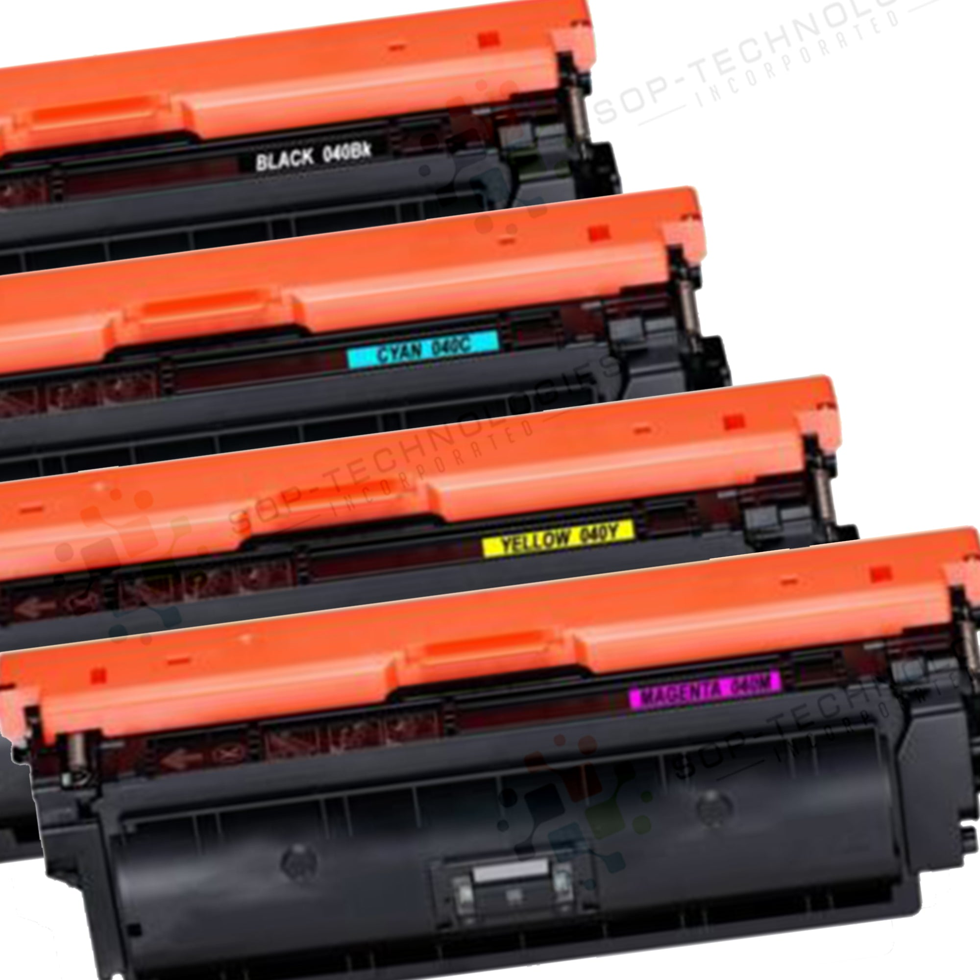 4pk Compatible Toner Cartridge Replacement for Canon Color image CLASS LBP712Cdn - SOP-TECHNOLOGIES, INC.