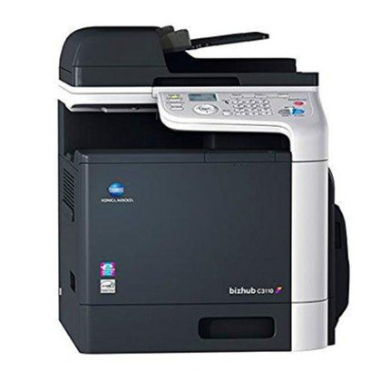 OEM KONICA MINOLTA BIZHUB C3110 (A6DT012) 32 PPM COLOR, PRINTER, COPY, PRINT, SCAN, (FAX), FULL YIELD TONER, K=6K YIELD, CMY=6K YIELD - SOP-TECHNOLOGIES, INC.