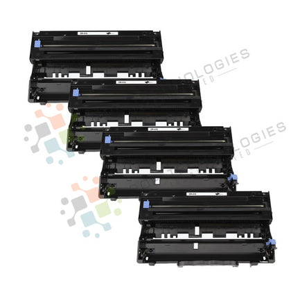 4 Pack DR-510 Replacement Drum Unit for Brother (Black Only) - SOP-TECHNOLOGIES, INC.
