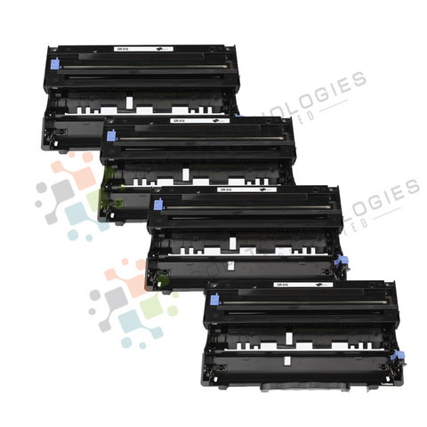 4 Pack DR-510 Replacement Drum Unit for Brother (Black Only)