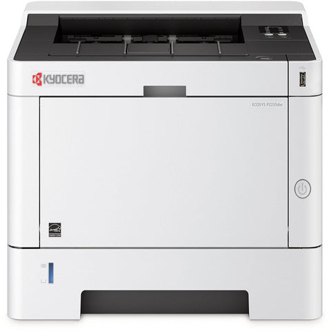 OEM KYOCERA MITA P2235DW (1102RW2US0) 37 PPM MONOCHROME, PRINTER, STD WIRELESS, START UP TONER, K=1K YIELD