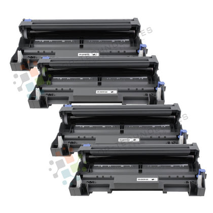 4 Pack DR-520 Replacement Drum Unit for Brother (Black Only) - SOP-TECHNOLOGIES, INC.