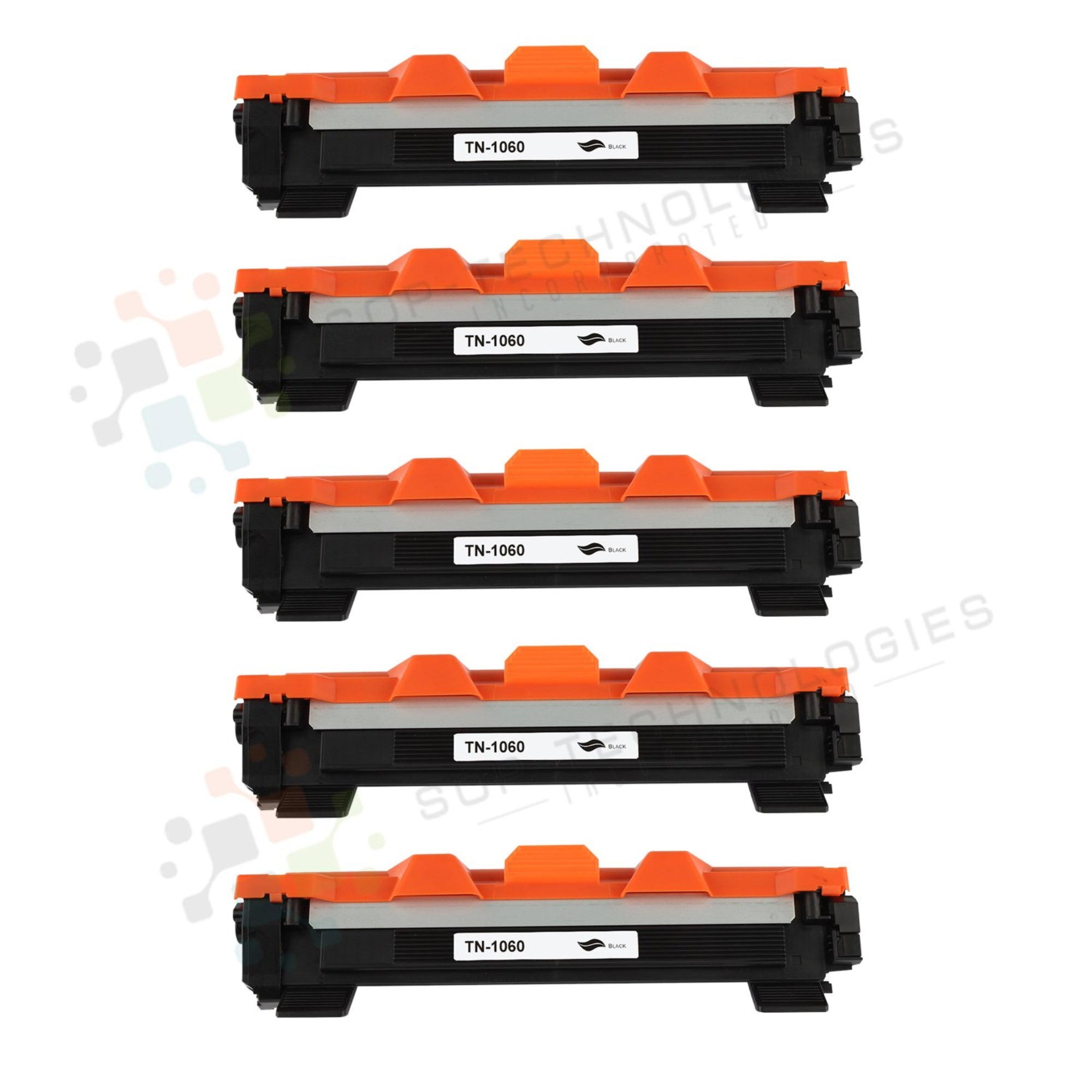5pk Toner TN1060 TN-1060 Premium Black Compatible Toner Cartridge  Unit Replacement for Brother - SOP-TECHNOLOGIES, INC.