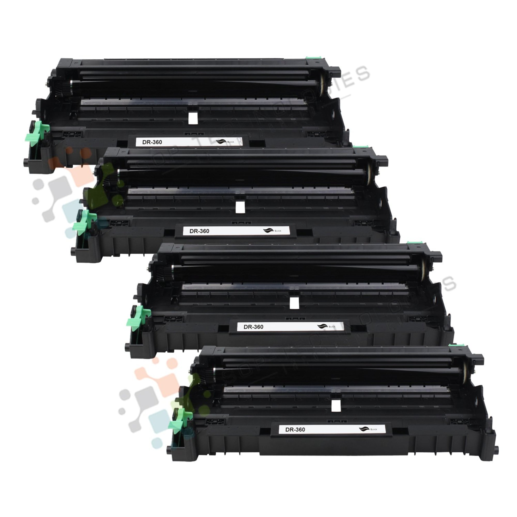 4 Pack DR-360 Replacement Drum Unit for Brother (Black Only) - SOP-TECHNOLOGIES, INC.