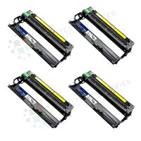 4pk DR-210CL Replacement DRUM UNIT for Brother HL-3040CN-CMYK