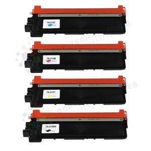 4pk Compatible Toner Cartridge Replacement for Brother HL-3040CN-CMYK