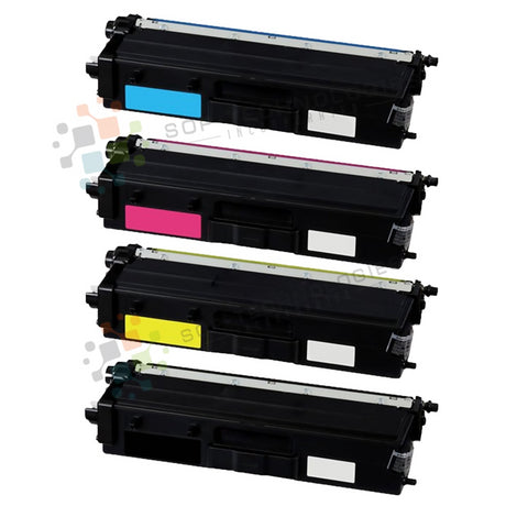 4pk Compatible Toner Cartridge Replacement for Brother TN-433 (CMYK)