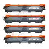 4 Pack CMYK Toner Set for Brother TN-221BK, TN-221C,TN-221M, TN-221Y