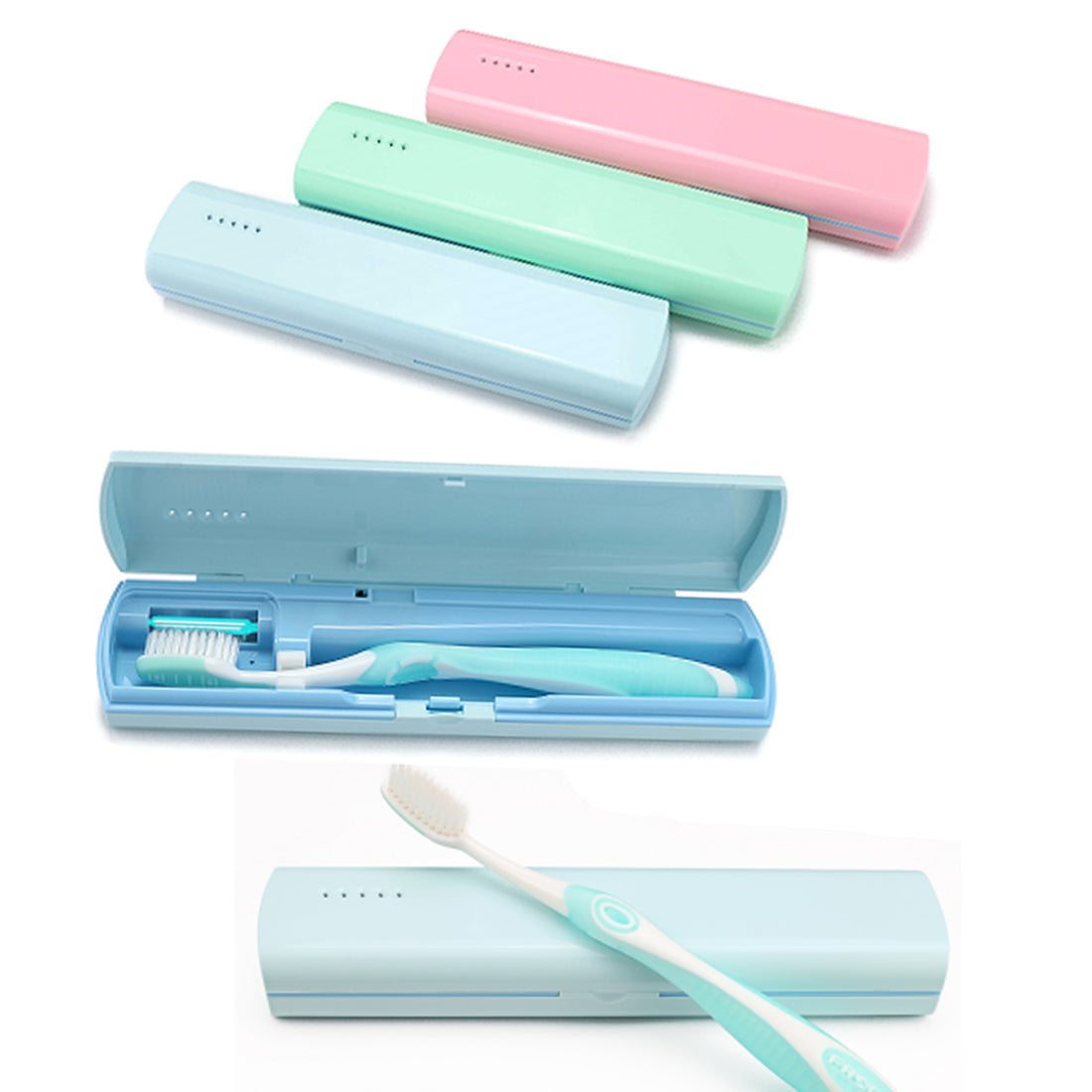 Auto-timer UV Toothbrush Sanitizer For Health Care - SOP-TECHNOLOGIES, INC.