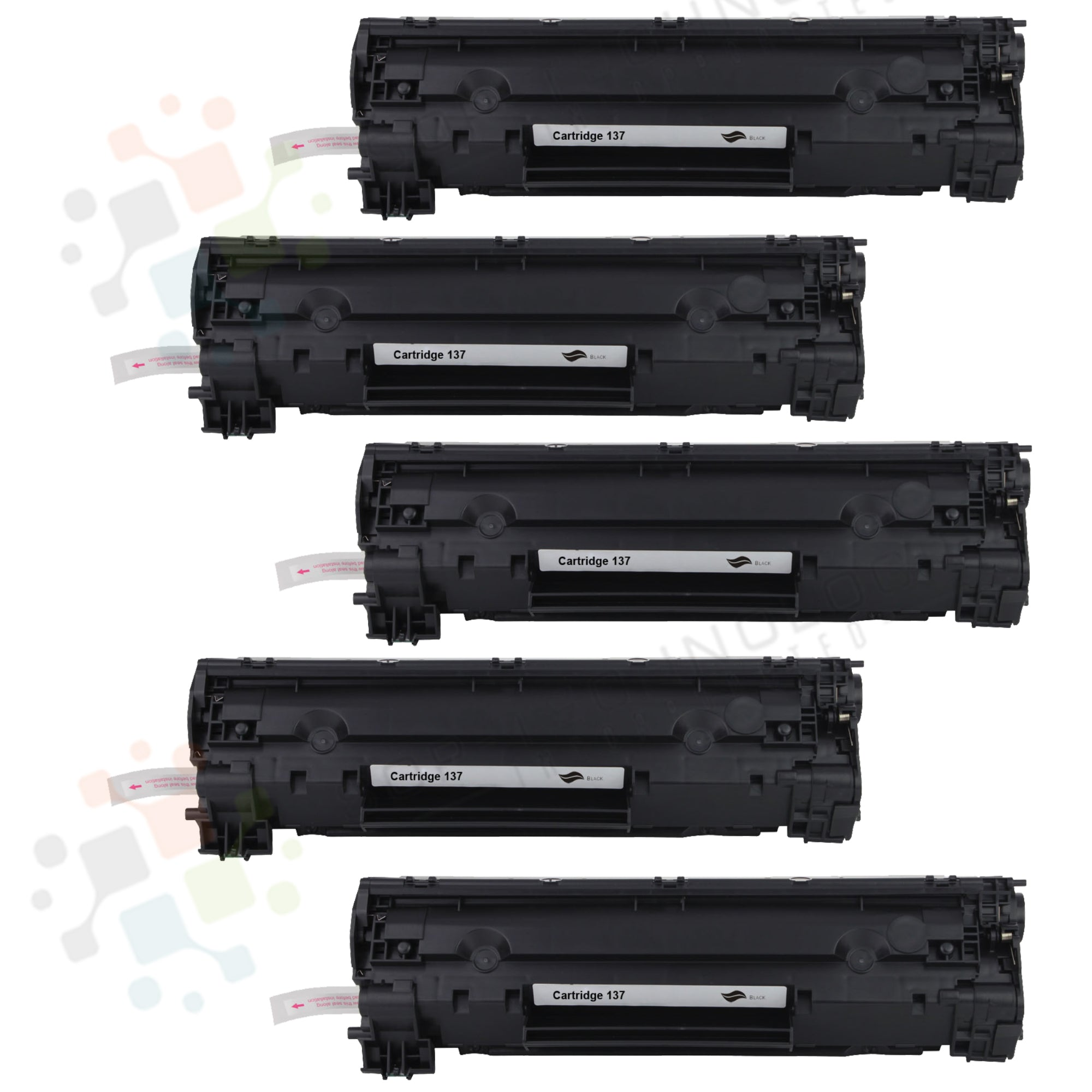 5pk Canon 137 Compatible Toner Cartridge for Canon - SOP-TECHNOLOGIES, INC.