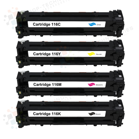 4pk Compatible Toner Cartridge Replacement for Canon imageClass LBP7660CDN