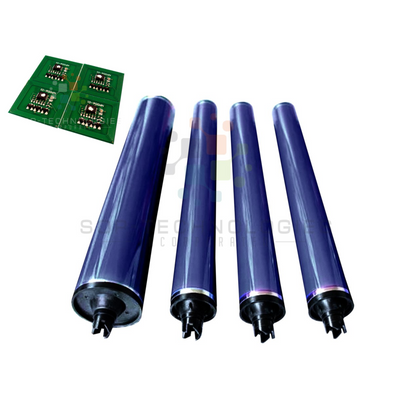 4 x 013R603/013R602 Color Drum parts for Xerox DC 240 242 250 252 260 PLUS 4 CHIPS (CMYK) - SOP-TECHNOLOGIES, INC.